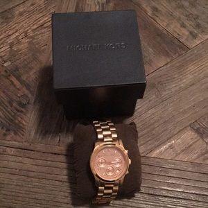 Michael Kors Rose Gold Women's Watch